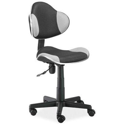 Skrivbordsstol Carla - Svart/grå