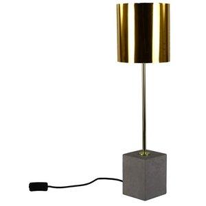 Bordslampa Ocke - Cement / Mässing