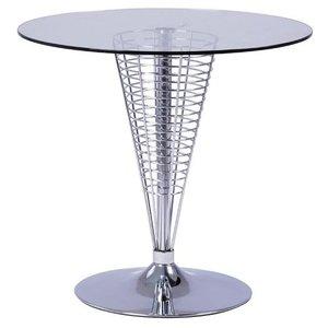 Amiyah barbord - Glas/krom