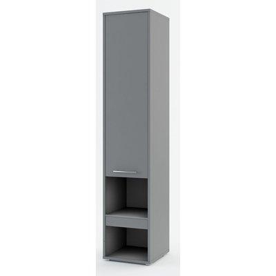 Compact living skåp 1D - Grå