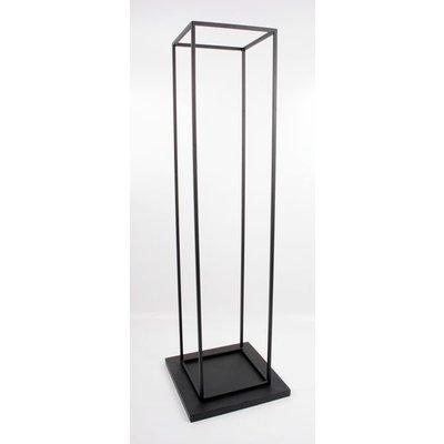 Alvesta vedstativ 115 cm - Svart