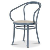 Stol No30 By Michael Thonet - Pastellblå/Rotting
