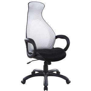 Angeline skrivbordsstol - Svart/grå