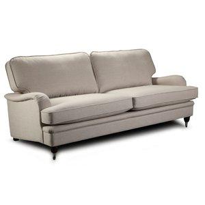 Howard Southampton 5-sits rak soffa - Ljus beige