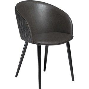 Dual karmstol - Vintage grå