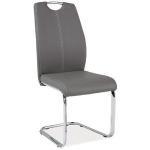 Jaylah stol - Grå/krom