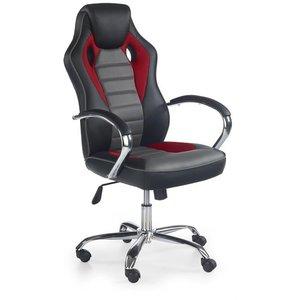 Begum skrivbordsstol - Svart/grå