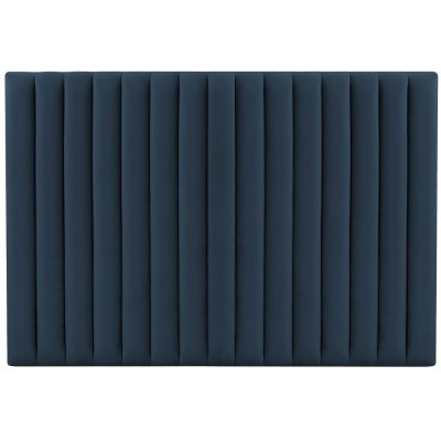Ribbersborg sänggavel (Blå sammet) - Valfri bredd