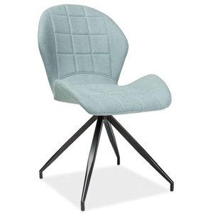 Marilyn stol - Mynta/svart