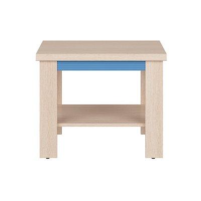 Lindby bord - Ek/blå