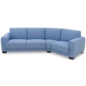 Coco svängd 4-sits soffa - Valfri färg!