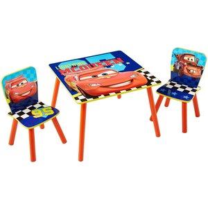 Cars bord och stolar - Röd/blå