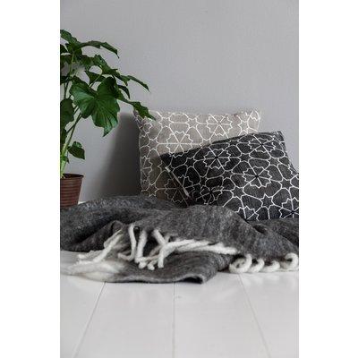 Pläd Morgan 130x170 cm - Grå