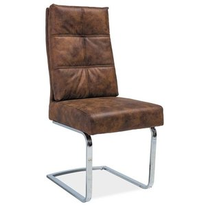 Madyson stol - Brons/krom