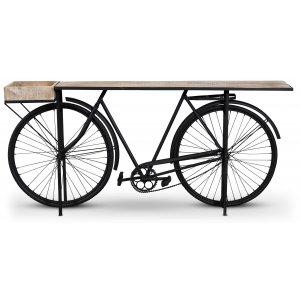 Vintage Cykel Barbord - Svart/mango