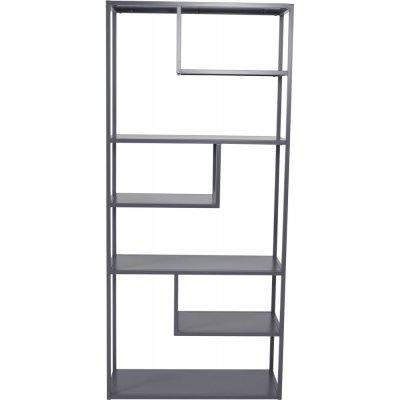 Träne bokhylla - Ljusgrå