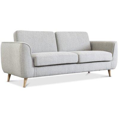Mineola 3-sits soffa - Ljusgrå
