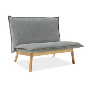 Rowe soffa - Grå/ek