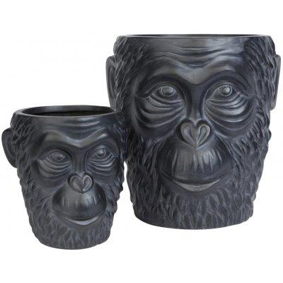 Gorilla set om 2 st utekruka - Svart