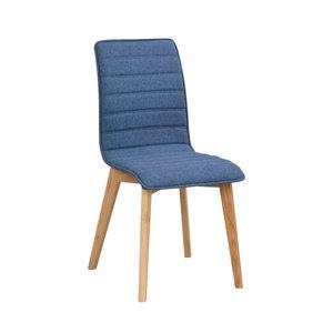 Hettie stol - Blå/ek