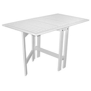 Flipper vikbart bord - Vit