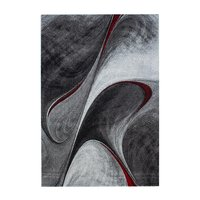 Maskinvävd matta Arvel - Röd