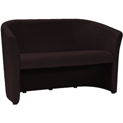 Lilyanna 2-sits soffa - Mörkbrun