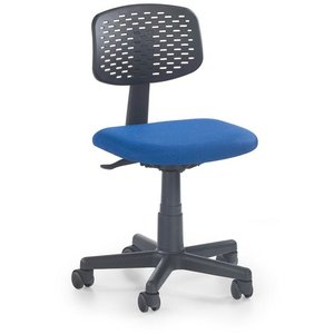 Frazer skrivbordsstol - Svart/blå