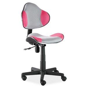 Carla skrivbordsstol - Rosa/grå
