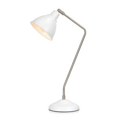 Coast bordslampa - Vit/krom
