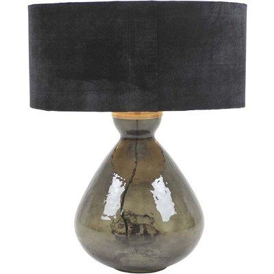 Slettens bordslampa - Mörkgrå/svart