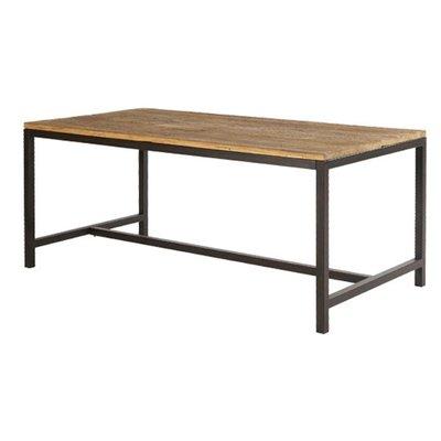 Vintage matbord 180 cm - Rustik alm