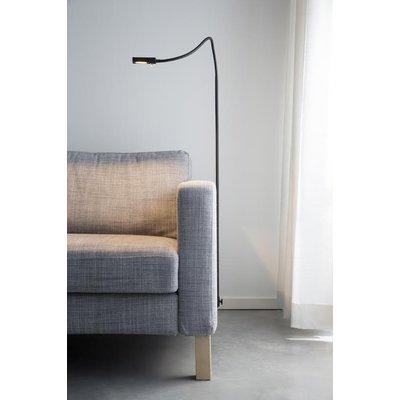 Symbios läslampa för soffa/säng - svart
