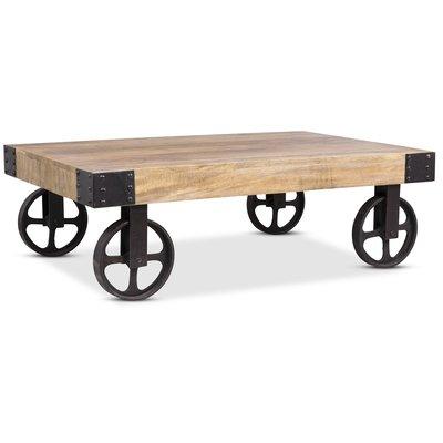 Buffalo soffbord med hjul - Vintage