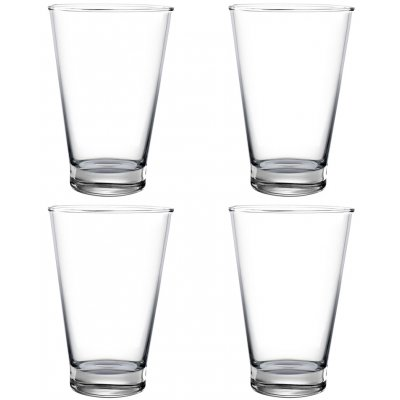 Pure & Simple vattenglas i kristall - 4 st