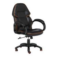 Office skrivbordsstol - svart / orange