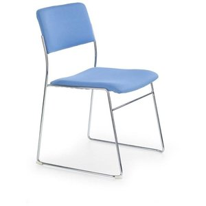 Stol Calla - Blå/krom