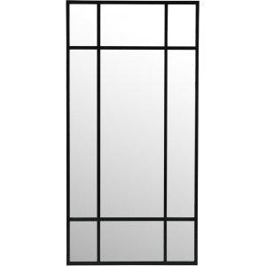 Marlon spegel 200 cm - Metall/antiksvart