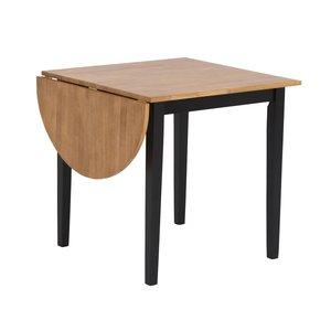 Merida bord med 1 klaff 111 cm - Svart / ek