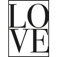 LOVE - Poster 50x70 cm