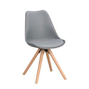Melle stol - Mörkgrå/ek
