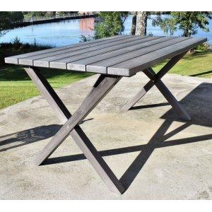 Scottsdale matbord 150 cm - Grålaserad