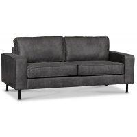 Sandö 2,5-sits soffa - Antracit Ecoläder
