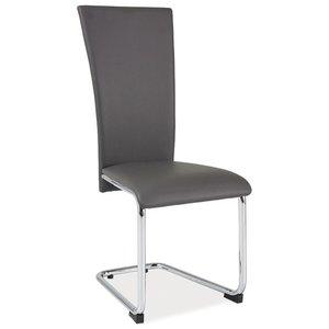 Lafayette stol - Grå/krom
