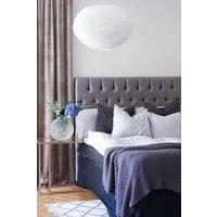 Nord sänggavel med knappar - Valfri storlek färg
