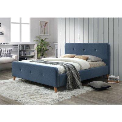 Aisha sängram 160x200 cm - Denimblå