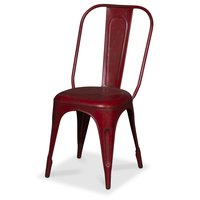 Stol Toxil - Vintage röd