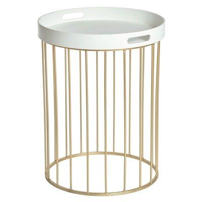 Chandler lampbord - Vit / Guld
