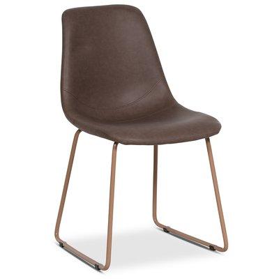 Live stol - Vintage brun