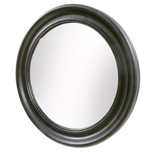 Classic rund spegel - Svart